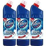 Domestos Gel Nettoyant WC Javel 100% Désinfectant Original 1l - Lot de 3