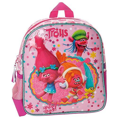 Imagen de trolls happy 27620a1  infantil, 25 cm, 5.75 litros, rosa