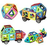 Innoo Tech Blocchi Costruzioni Magnetiche Puzzle di Legno per I Bambini Lasciate Che Il Vostro Bambino Imparare Colori e Forme Attraverso (Piccoli)