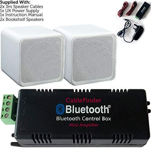 Kabellos/Bluetooth Verstärker & 80 W Bücherregal Lautsprecher kit-surround Sound HiFi AMP (Kit Bücherregal)