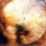 Kunstdruck/Poster: Joseph Mallord William Turner Licht und Farbe Goethes Farbenlehre -Morgen nach der Sintflut-Moses schreibt das Buch der Genesis - hochwertiger Druck, Bild, Kunstposter, 40x40 cm