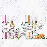 Seer Secrets Squeaky Clean Combo Luxurious Refreshing Bath Combo Pack (Smokey Rose Geranium 100ml + Sedative Jasmine…