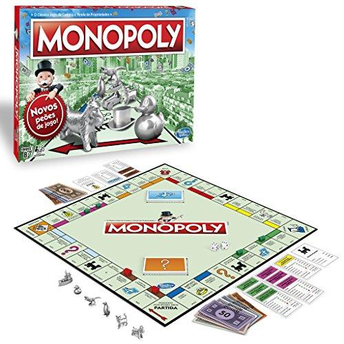 Monopoly- Portugal - Versión Portuguesa Hasbro C1009190