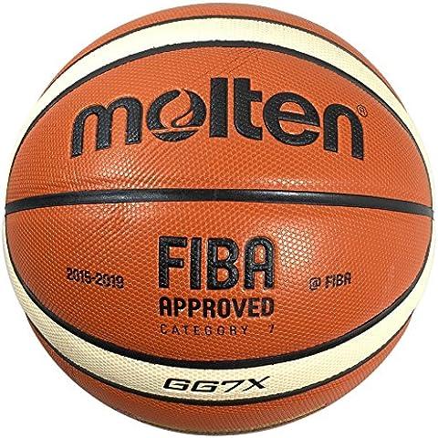 Molten GG7X cuero compuesto de baloncesto (BGG7X) aprobado interior al aire libre de la