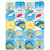 Teacher Created Resources 1261 Weather Stickers