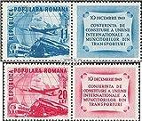 Rumänien 1193A Zf-1194A Zf mit Zierfeld (kompl.Ausg.) 1949 Union der Transportarbeiter (Briefmarken für Sammler) Luftfahrt