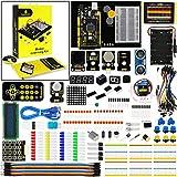 KEYESTUDIO Mega 2560 Starter Kit con LCD, Servo, Joystick, Relè, Motore, A Ultrasuoni per Mega2560 Stelo Istruzione per Arduino