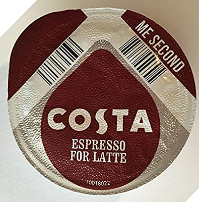 Tassimo 48 x Costa Espresso for Latte T- Discs, Sold Loose