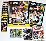 Blue Ocean Lego Star Wars Trading Cards Serie 1 - Sammelordner 10 Booster Minifigur Obi-Wan Kenobi 3 x Karte Limitierte Edition