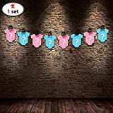 #10: Party Propz Baby Shower String Banner (8 Feet)