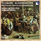 Telemann : Concertos pour instruments � vent (fl�tes, hautbois, trompette, chalumeaux etc) / Reinhardt Goebel & Musica Antiqua K�ln