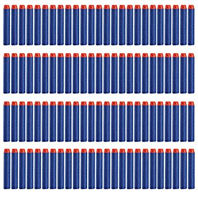 Buytra 7.2cm Soft Refill Darts for Nerf N-strike Elite Series 100 PCS