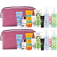 VLCC Nourish & Shine Kit with Pouch (Assorted Color) | skin Care, Hair Care, hygiene Essentials Combo for women | beauty…