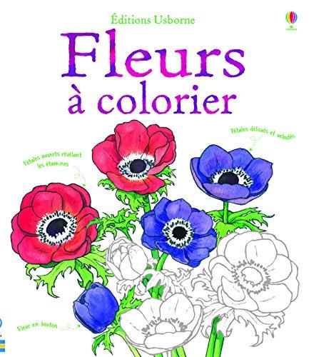 Fleurs  colorier