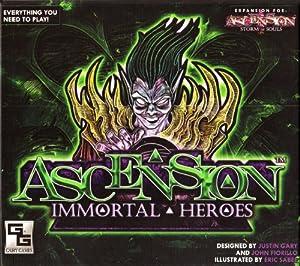 Ascension: Immortal Heroes - Set de Inicio de Cartas Héroes (Gary Games Inc GGS004) Importado de Inglaterra