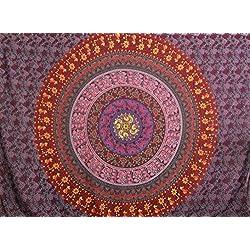 Premium calidad bohemio Mandala tapiz colgar en la pared decoración por Varano, Picnic hoja toalla de playa manta–HD no-fading impresión Digital–claro patrones y colores vivos