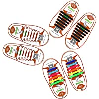 Lacets élastiques par Mocent, pour enfants et adultes, pour la course et le sport, en silicone, multiples couleurs