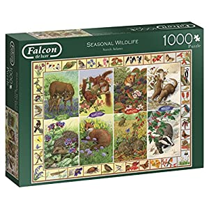Jumbo- Seasonal Wildlife Puzzle de 1000 Piezas (11200.0)