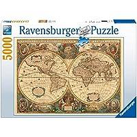 Ravensburger Antique World Map, 5000pc Jigsaw puzzle