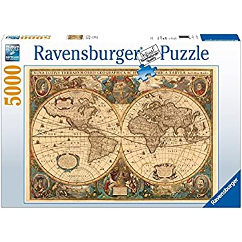 Educa 14827 the world executive map 4000 pieces genuine ravensburger antique world map 5000pc jigsaw puzzle gumiabroncs Images
