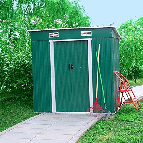 Casetta medium store Altezza 182 cm, profondità 121 cm, lunghezza 194 cm Marchio: garden friend.