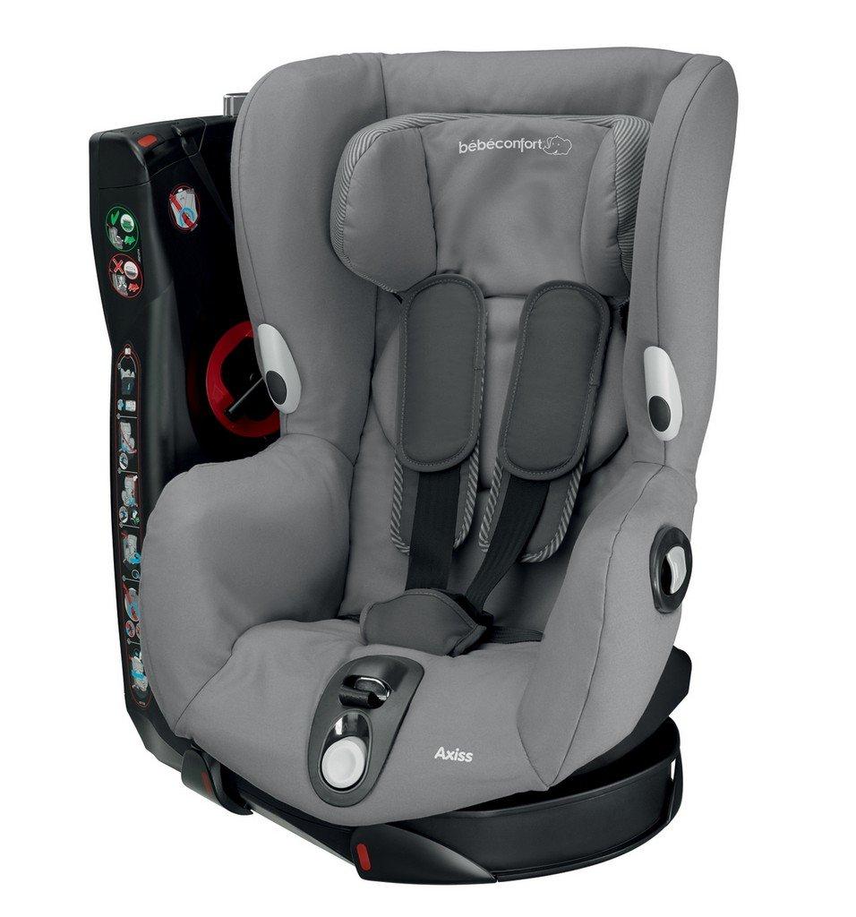 Bébé Confort 86088960 Axiss Seggiolino auto, Gruppo 1 , 9-18 kg , Grigio , Concrete