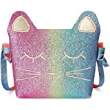 Mibasies Kids Cat Purse for Little Girls Toddlers Crossbody Bag