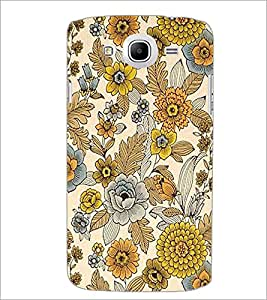 PrintDhaba Floral Design D-1443 Back Case Cover for SAMSUNG GALAXY MEGA 5.8 (Multi-Coloured)