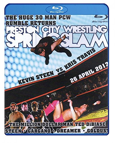PCW - PRESTON CITY WRESTLING - Springslam 2013 BLU-RAY