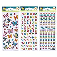 Craft Planet CPT 6561043 Fun Stickers-Frogs, Multi