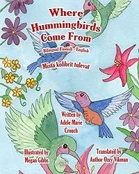 Where Hummingbirds Come From Bilingual Finnish English