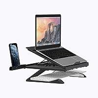 Support Ordinateur Portable Laptop Stand Refroidisseur Ergonomique Léger pour MacBook, Dell, Lenovo, Autres Laptops…