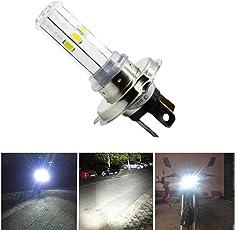 EASY4BUY® H4 Bike LED 6 COB Headlight Front Light Bulb Lamp