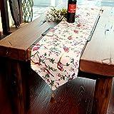 D&LE esstisch Dekoration Tischläufer,Einfache Moderne Aus Stoff Tischläufer Couchtisch tv-ständer Tischläufer-G 30x160cm(12x63inch)
