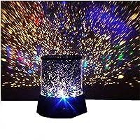 Bessky renkli romantik Cosmos Star Master LED [projektör lamba gece ışık] iyi hediye