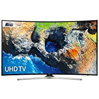 Samsung UE55MU6200 Black - 55inch 4K Ultra HD Curved TV with HDR Pro and Pur Colour