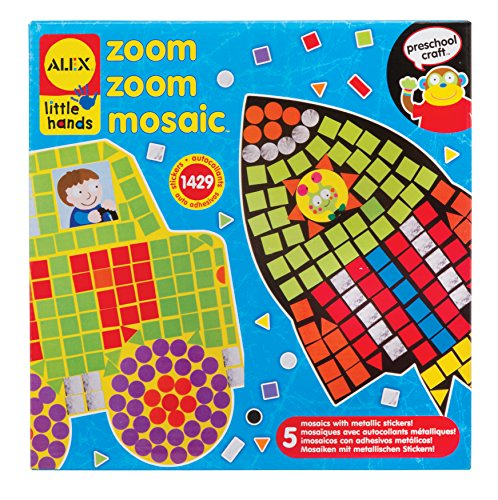 Alex Toys Early Learning Zoom Mosaic Little Hands, Multi Color