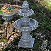 Fairy Garden UK Mini Stein Wasser Brunnen Garten Miniatur Home Decor U2013 Elfe  Pixie Hobbit Zauberhafte