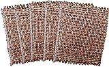 Set con 5unidades Cobre agarradores–Paños de toalla de cobre cobre limpiador Cobre aprox. 14,5x 13cm