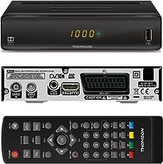 THOMSON THC300 HD Receiver für digitales Kabelfernsehen DVB-C Full HD (HDTV, HDMI, SCART, USB, Mediaplayer) schwarz