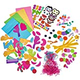 Simba Art and Fun Create Your Paper Puppets, Multi Color