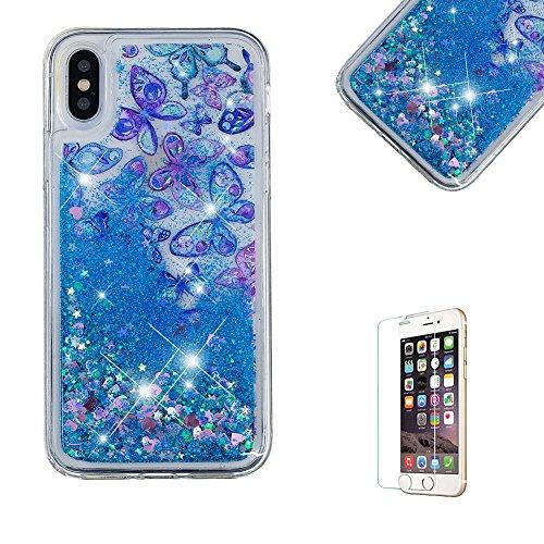 Funyye-Liquido-Glitterato-Custodia-per-iPhone-X