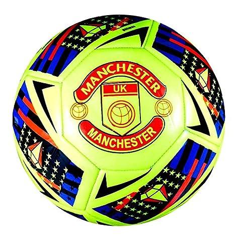 Ballon de match de football Manchester United Kingdom officiel FIFA édition spéciale, dimension 5,4,3 – Spedster