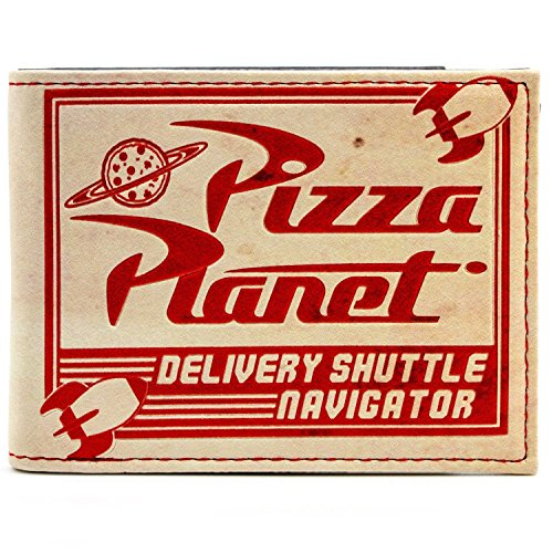 Pixar Toy Story Pizza Planet Mehrfarbig Portemonnaie Geldbörse (Gepäck Toy Story)