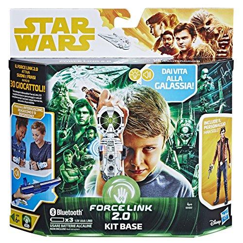 Hasbro Star Wars Star Wars - Base Kit Starter Set with Han Solo (Force Link 2.0), Multicolor, e0322103