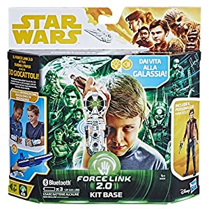 Hasbro Star Wars - Star Wars - Kit Base Starter Set con Han Solo (Force Link 2.0), Multicolor, e0322103