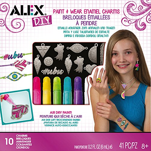 Alex Toys Do-It-Yourself Wear Paint Enamel Charms Kit
