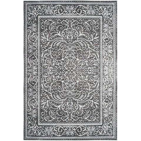 dolcemora Sehrazat Home und 8023–Teppich, Grau Modern 3.00 x 0.80 x 30.00 cm grau
