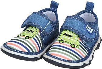 Mee Mee First Walk Baby Shoes with Chu Chu Sound (20 EU, Green)