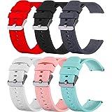 RuenTech, cinturino compatibile con Umidigi Uwatch 2/Umidigi Uwatch 2S/ Umidigi UWatch, cinturino in silicone, 22 mm, cinturi